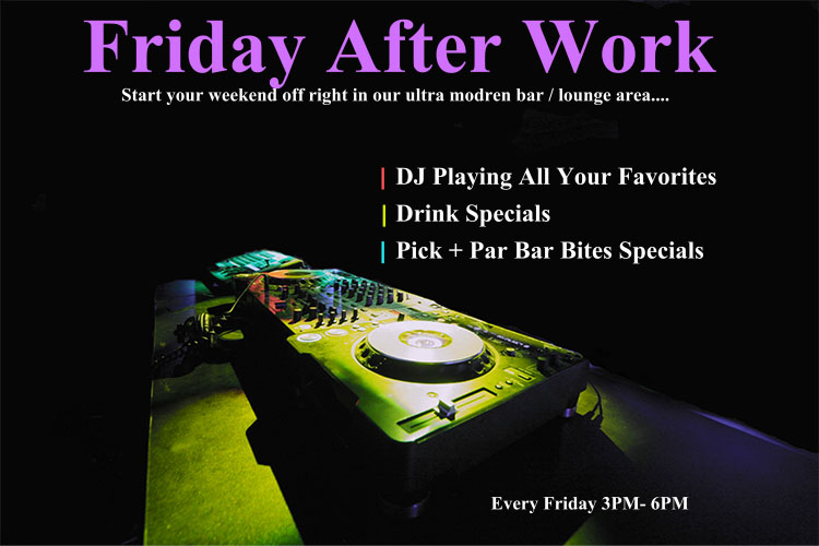 Every Friday 3PM-6PM