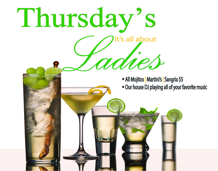 Thursdays, Starts @ 6pm